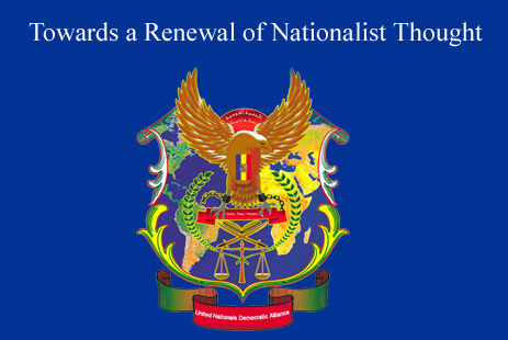Towards a Renewal of Nationalist Thought